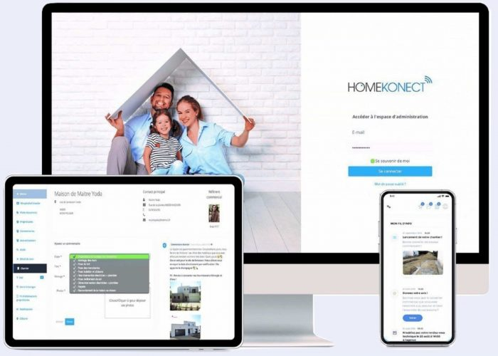 Homekonect, le logiciel de suivi de chantier 360°